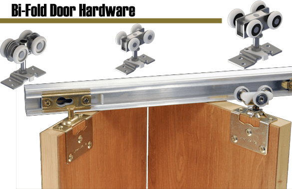 Industrial Hardware and Specialties offers complete line of Hager bi-fold door hardware.
