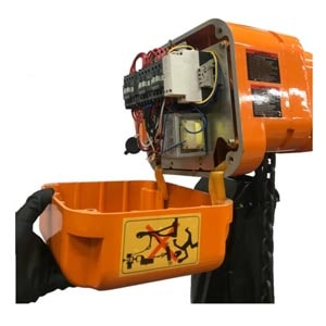 Electric Chain Hoist with Motorized Trolley - 3 Phase - Single Speed Breaker