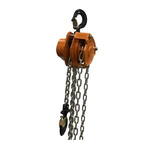 Manual Chain Hoist Internal View
