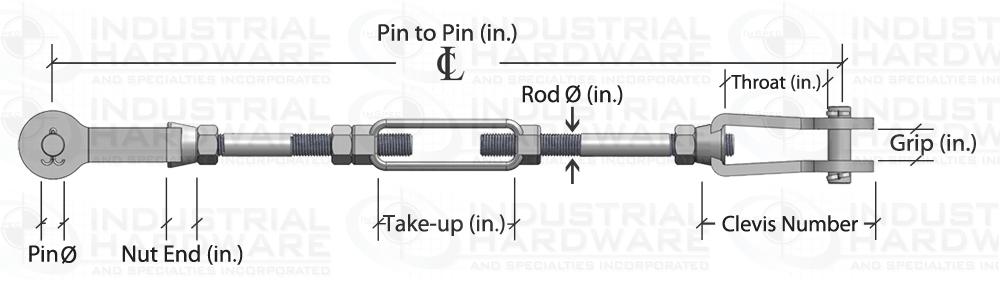 Adjustable Length Tie Rod Assembly Configurator How To Order Drawing
