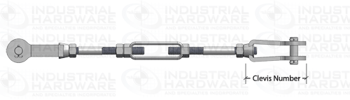 Tie Rod Assembly Clevis Number