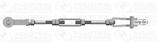 Tie Rod Assembly Clevis Grip