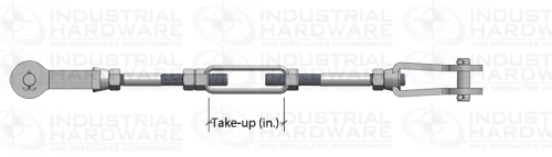 Tie Rod Assembly Turnbuckle Take-Up